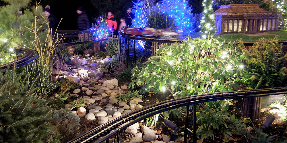 The Magic Of Longwood Gardens During The Holiday Season