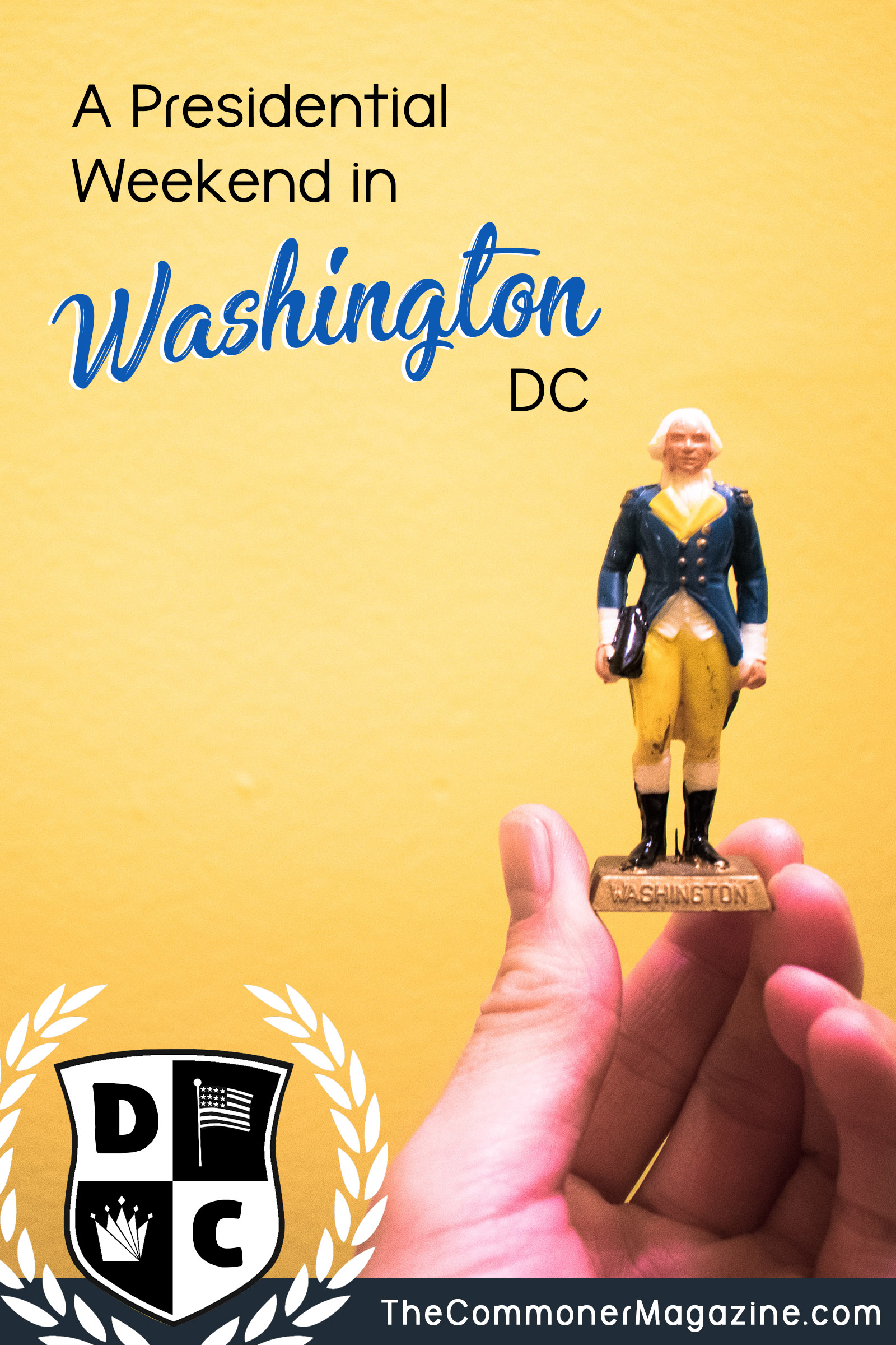 Does everyone like a theme?  If you are looking for something new to perform in Washington DC?  We are covered in a perfect presidential weekend in the capital.  Enjoy activities that go beyond the famous memorials of the President.  Commander's magazine full of travel tips from local experts.  #Washington DC #Tonston Washington #Presidential #WaterGate #DC #Washington Construction # USA